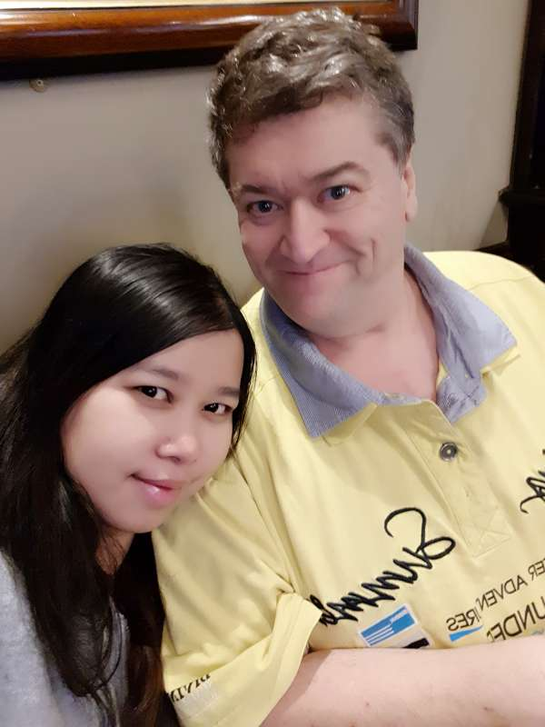 Hello,<br>thanks to you I have found my wife here !!! We are both very very happy, without you Thaikisses we would not be together, from the bottom of my heart thank you! <br> We got married in Bangkok...